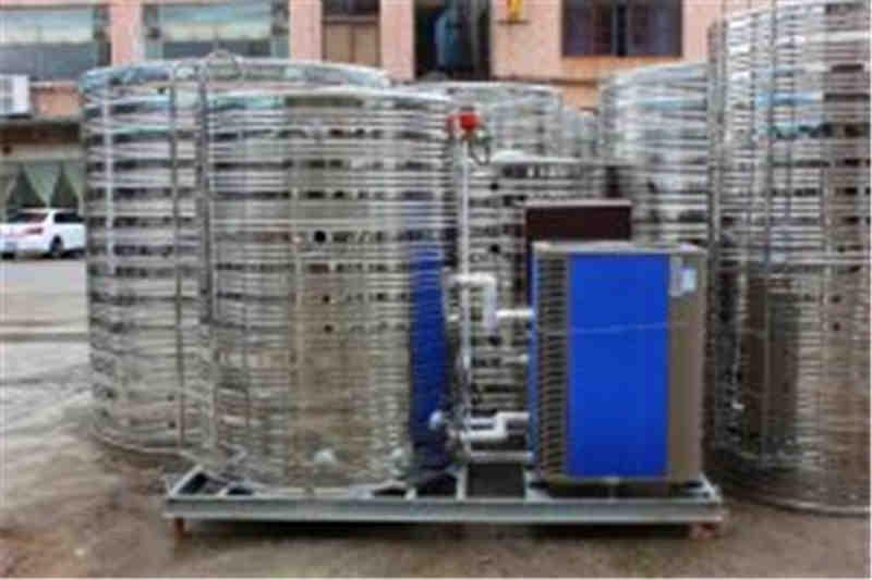 3匹空气能热水器配几吨热水桶合理?