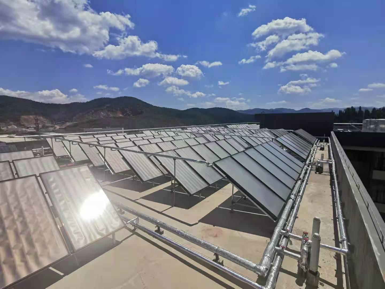 空气能辅助太阳能热水工程优势与特点